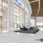 Springhill GME Building render, interior