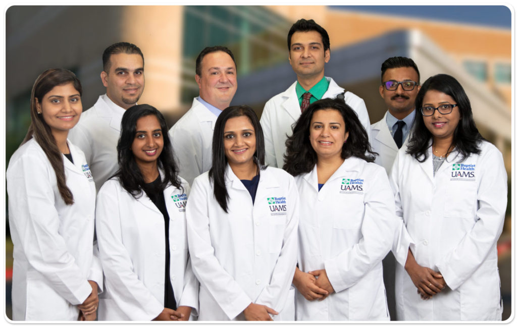 Group photo of Internal Medicine residents
