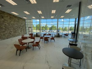 GME Building seating area